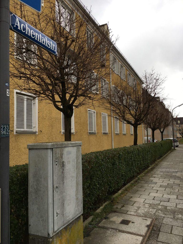 Achentalstraße