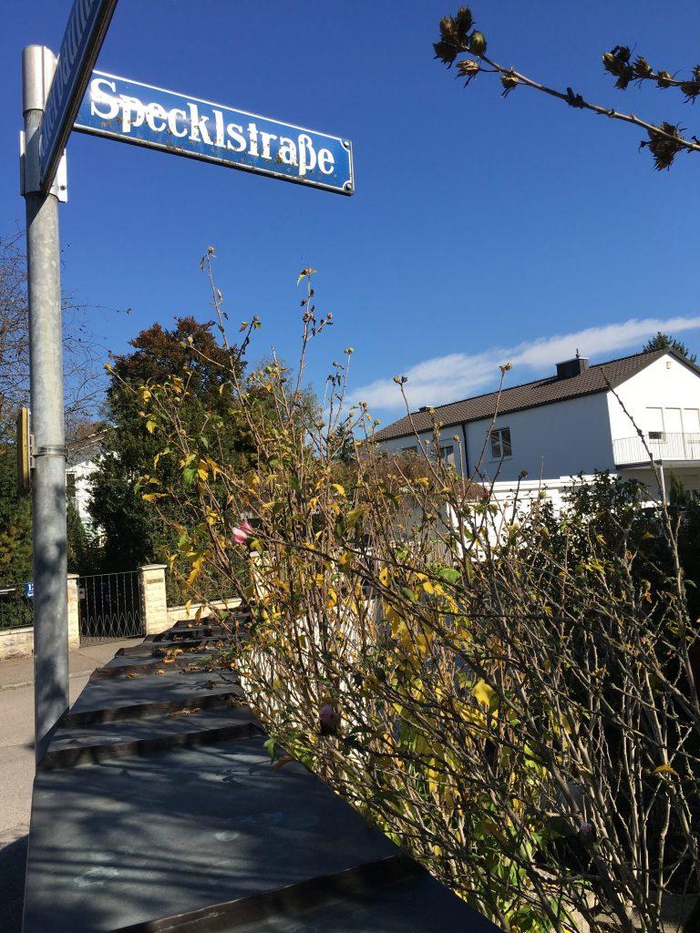 Specklstraße