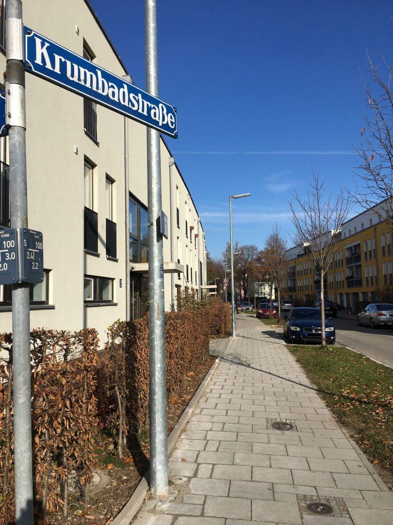 Krumbadstraße