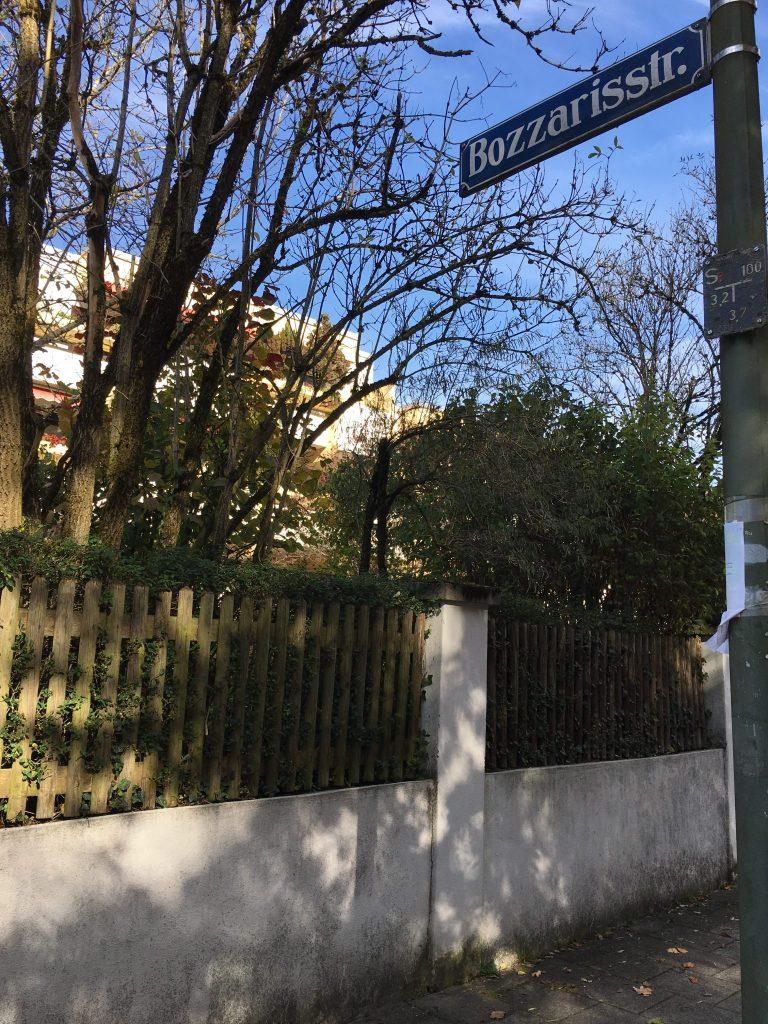 Bozzarisstraße