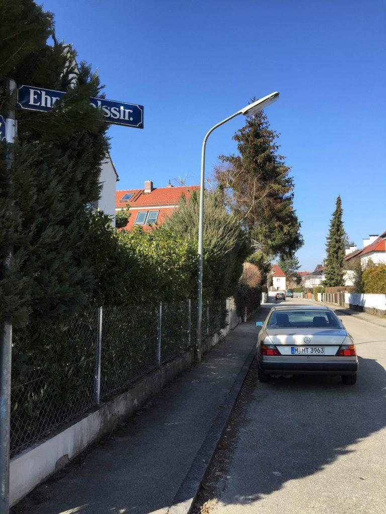 Ehrenfelsstraße