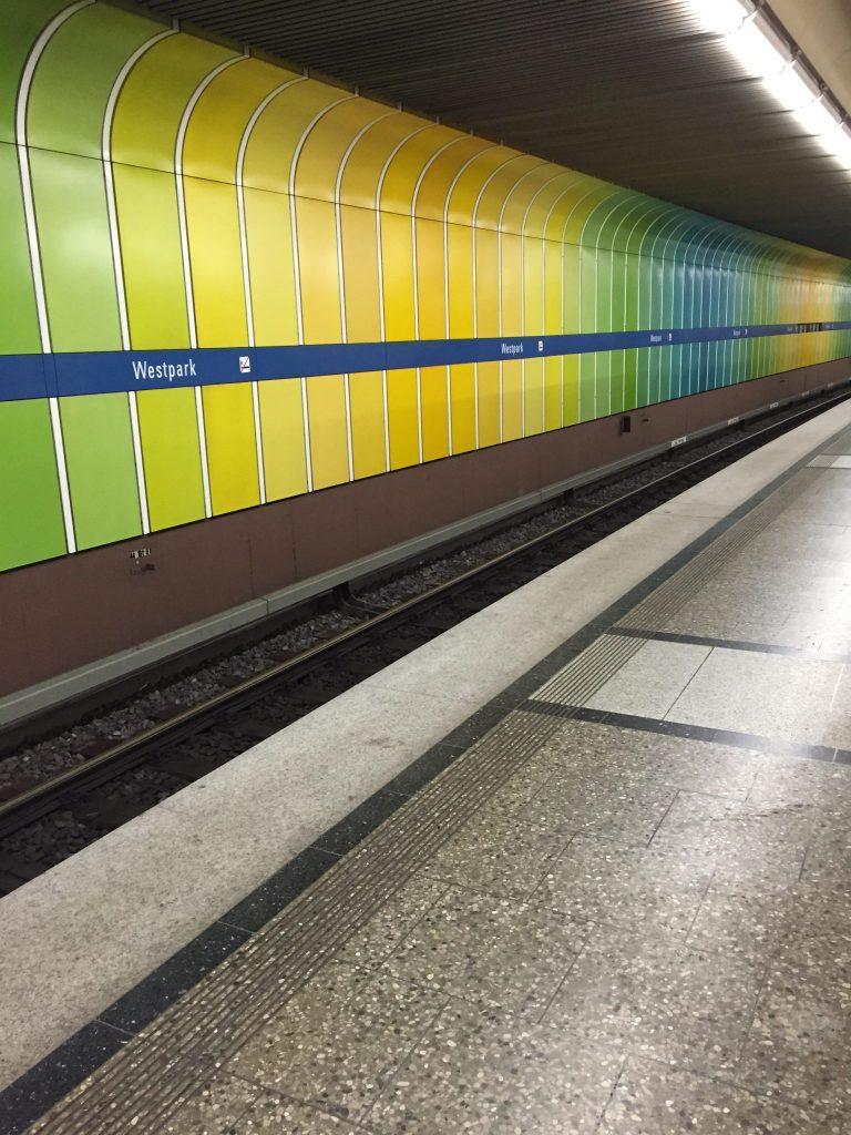 Ehrwalder Straße U-Bahn Westpark