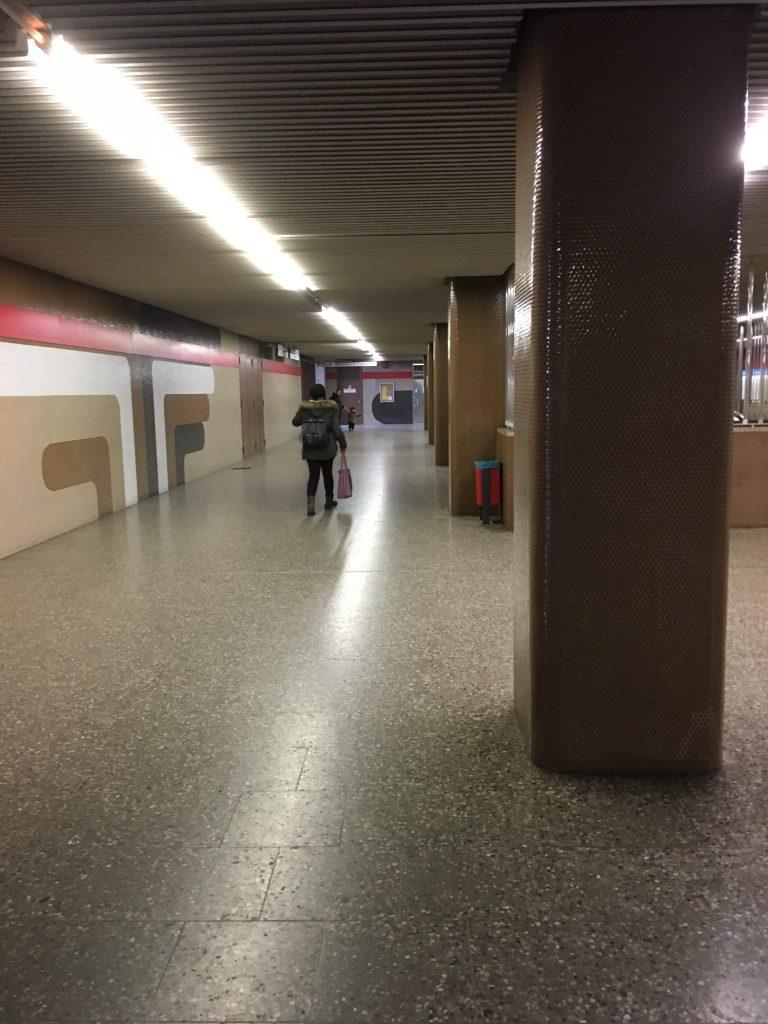 Giesinger Bahnhofplatz - Untergeschoss