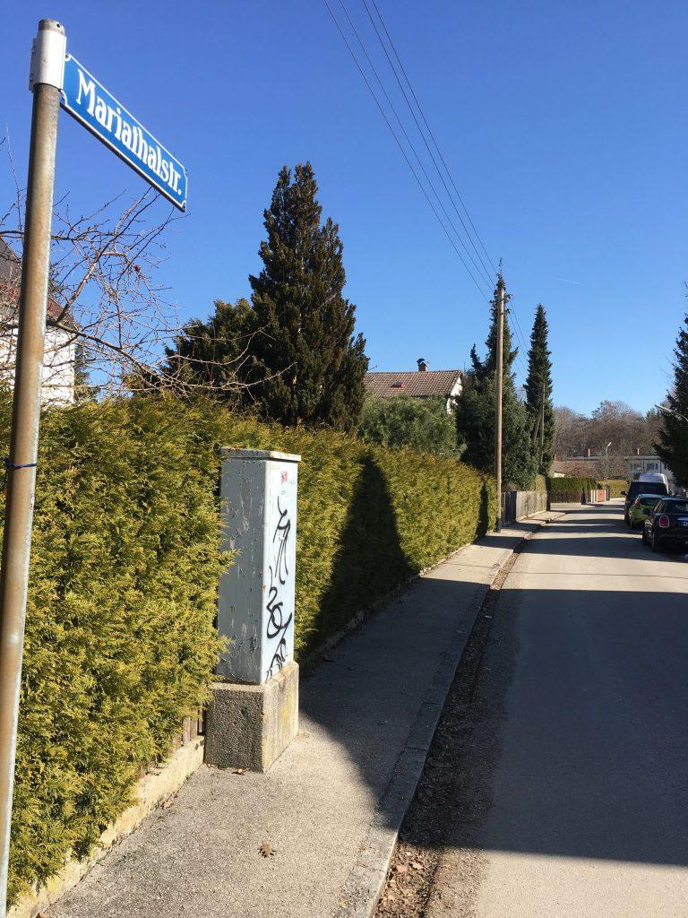 Mariathalstraße