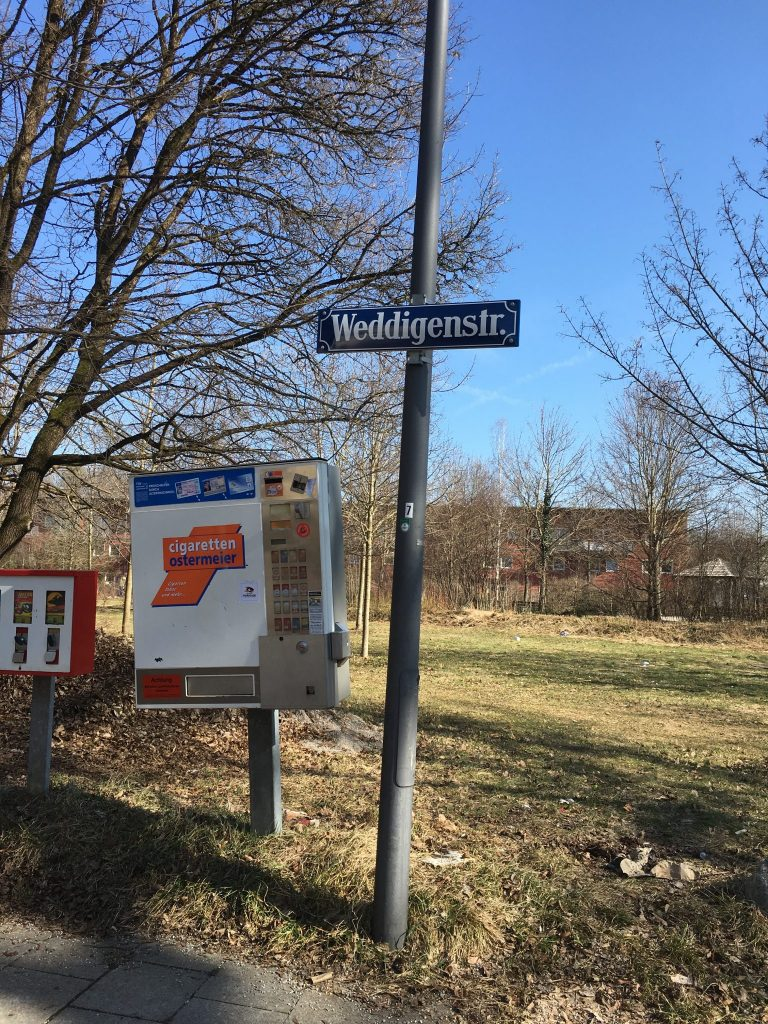 Weddigenstraße
