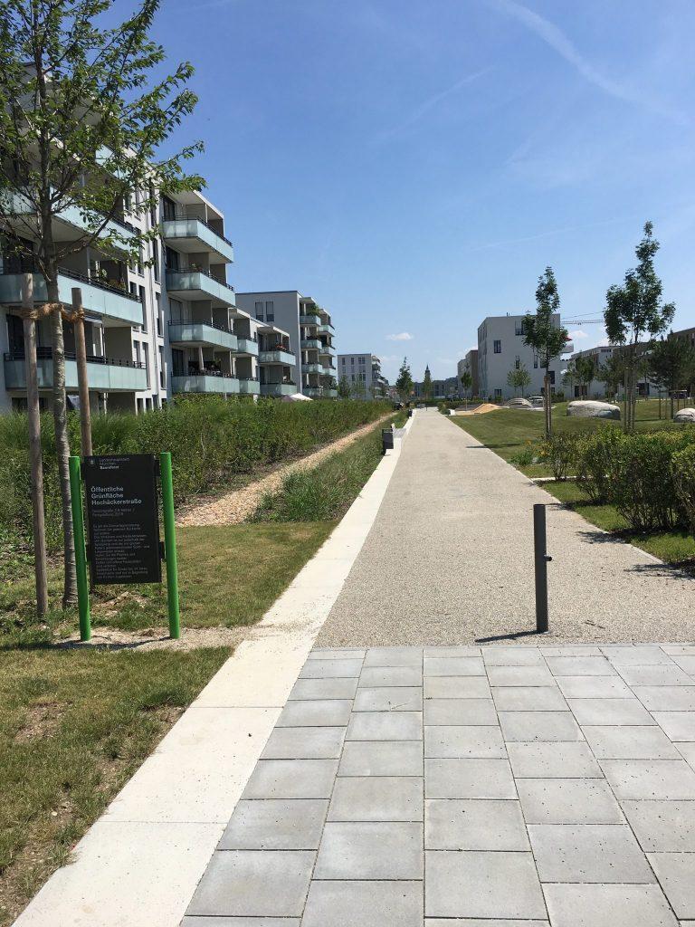 Grünanlage Hochäckerstraße