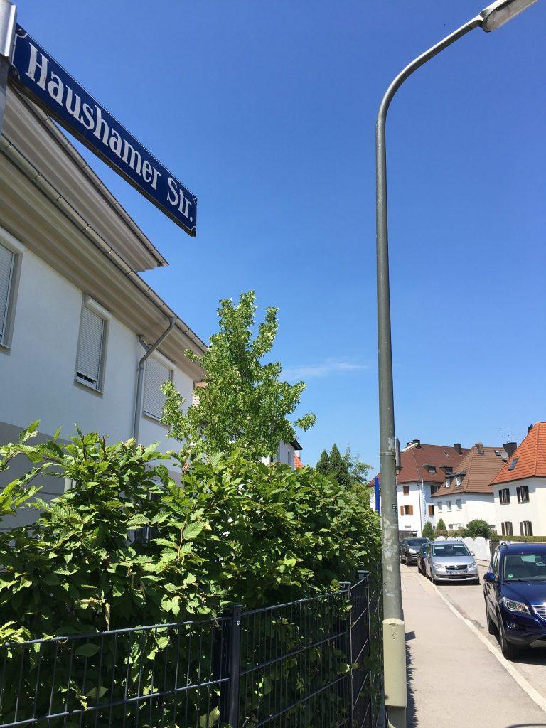 Haushamer Straße