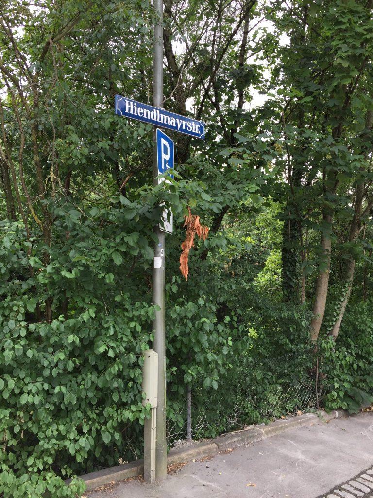 Hiendlmayerstraße