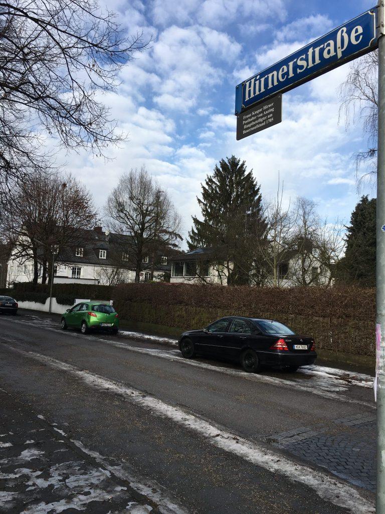 Hirnerstraße