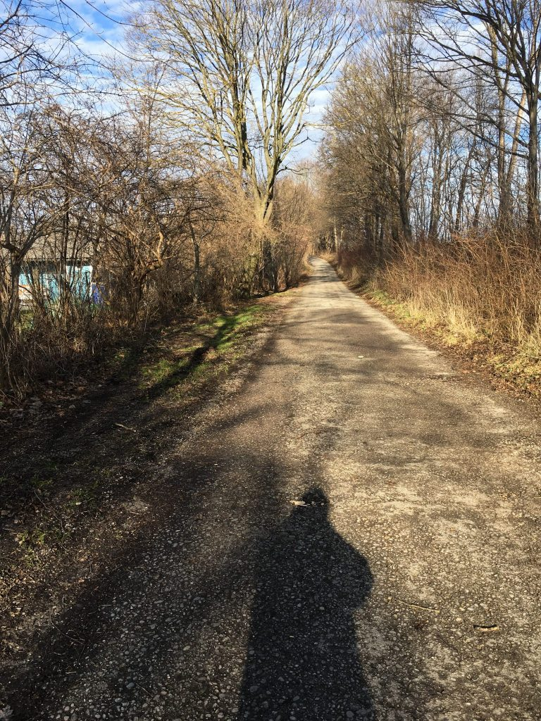 Hochäckerstraße Weg zur Fasangartenstraße