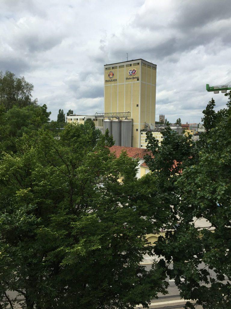 Hochstraße Blick 2016