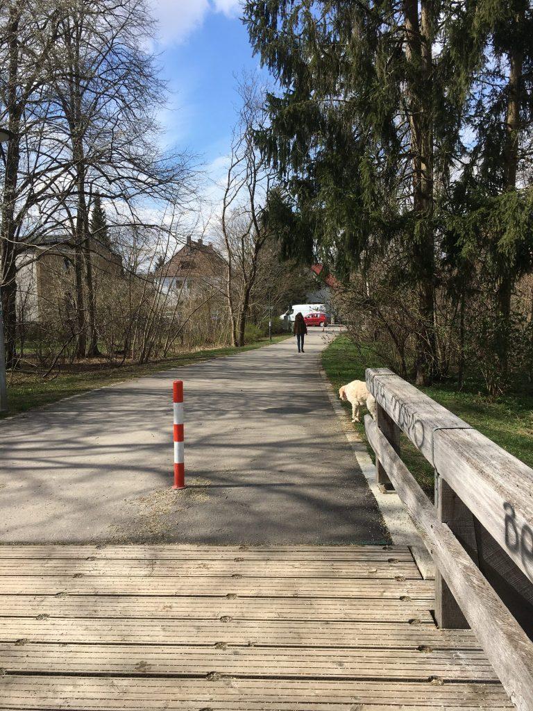 Hofangerstraße Weg Ri Ostpark