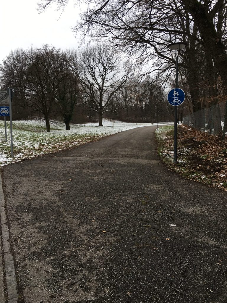 Langbürgener Straße Weg zur Ständlerstraße