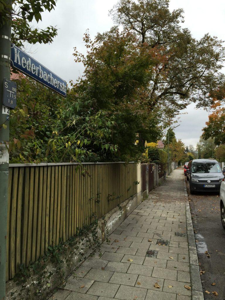 Kederbacher Straße