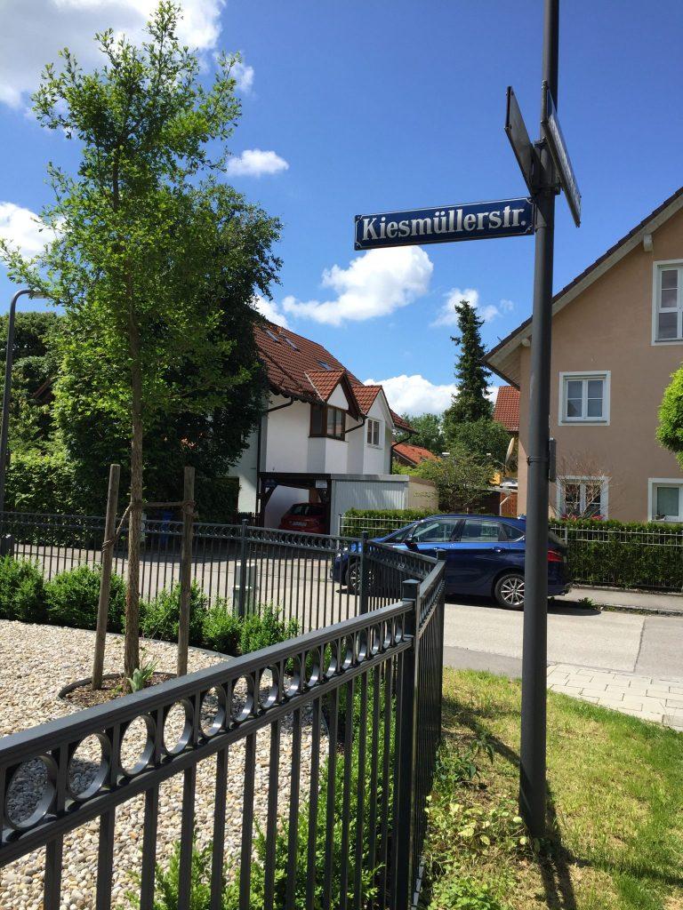 Kiesmüllerstraße
