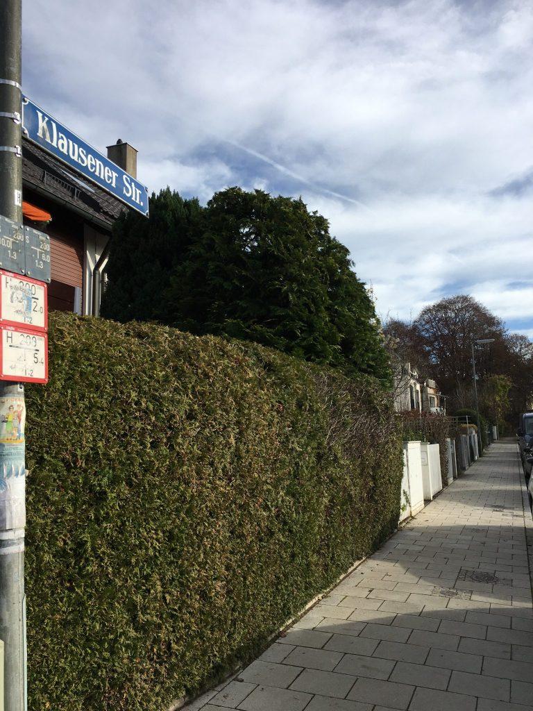Klausener Straße