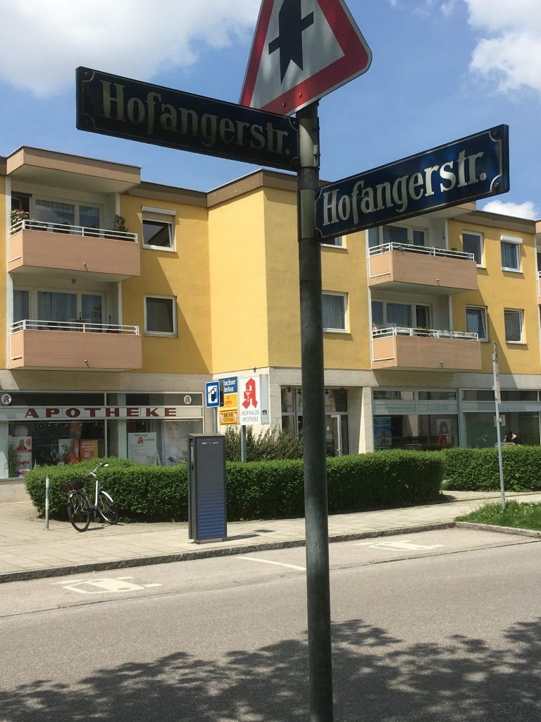 Hofangerstraße