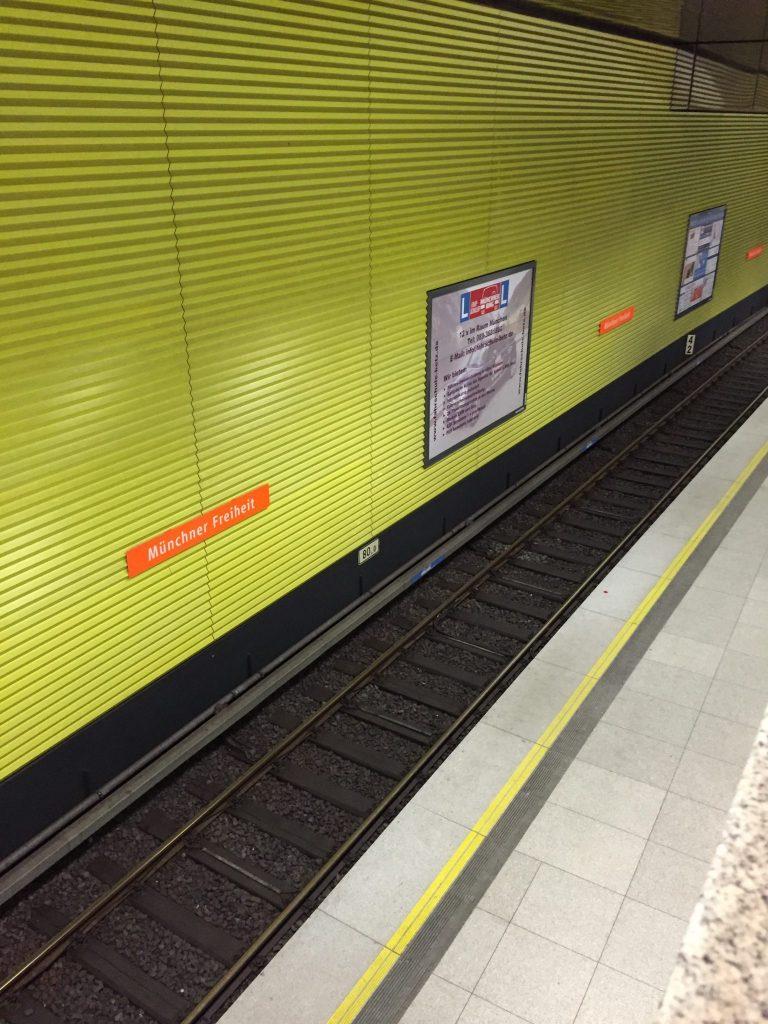Münchner Freiheit - U-Bahn