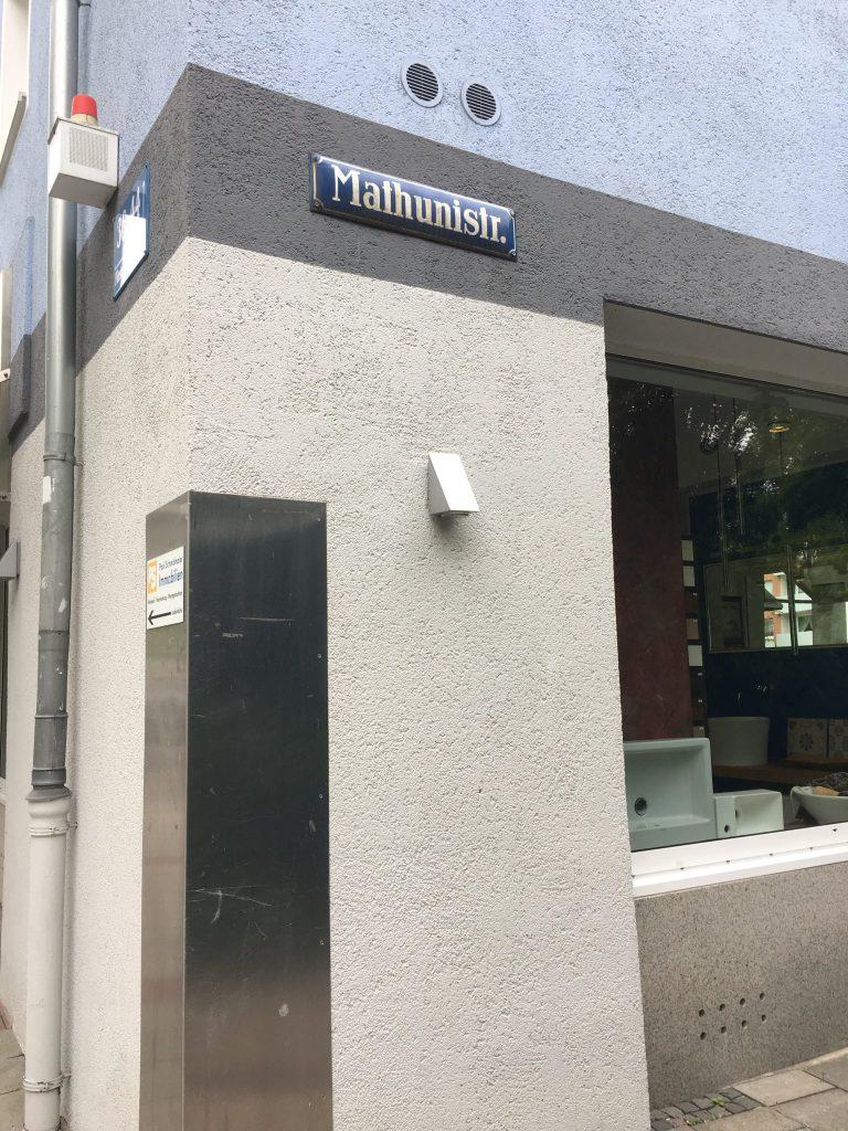 Mathunistraße