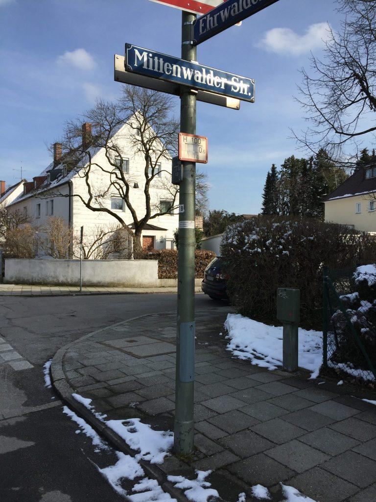 Mittenwalder Straße