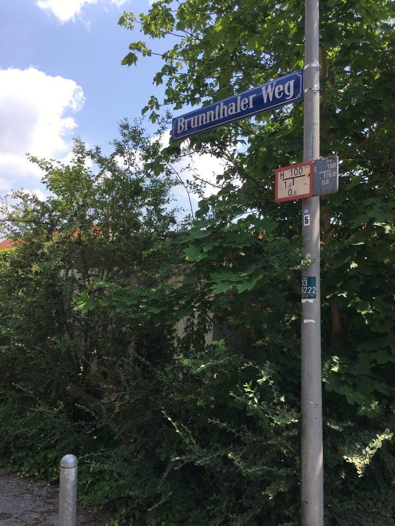 Brunnthaler Weg