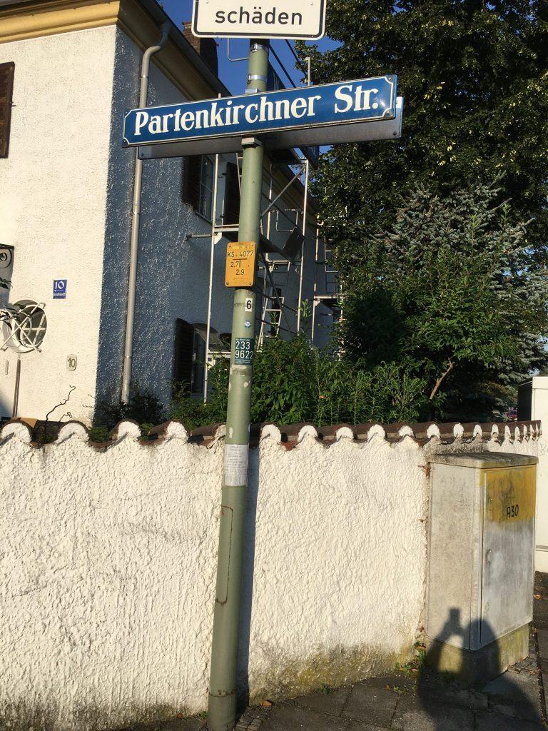 Partenkirchner Straße