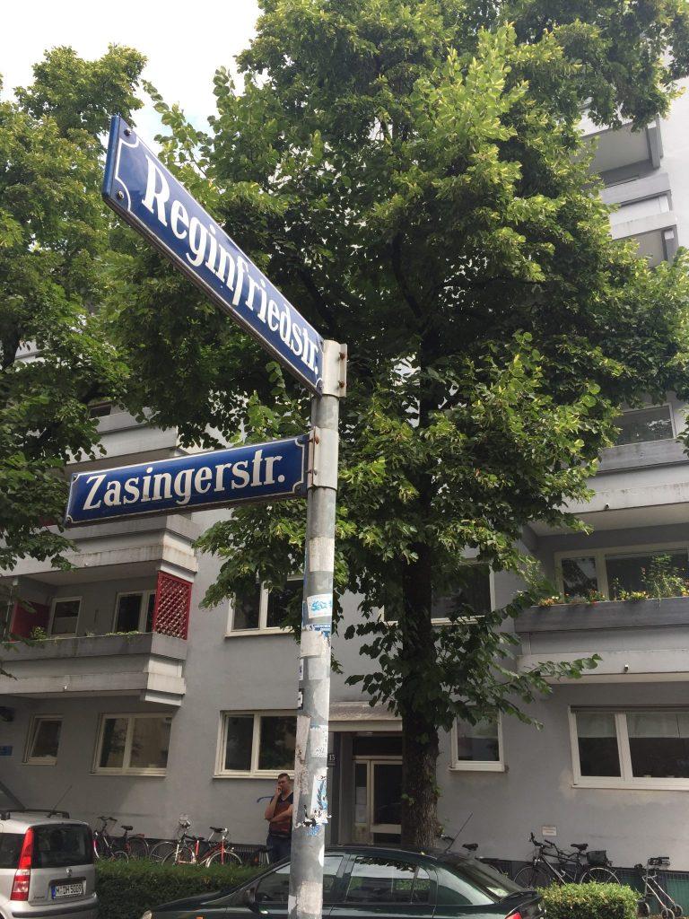 Reginfriedstraße