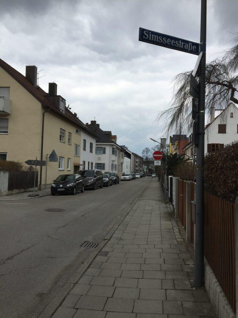 Simsseestraße