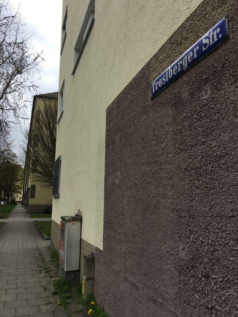 Trostberger Straße