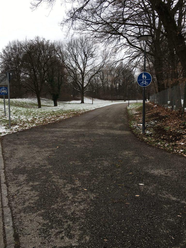Weg von der Langbürgener Straße zur Ständlerstraße