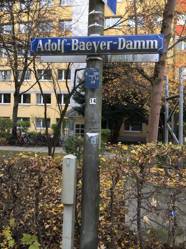 Adolf-Baeyer-Damm