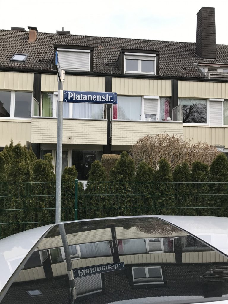 Platanenstraße