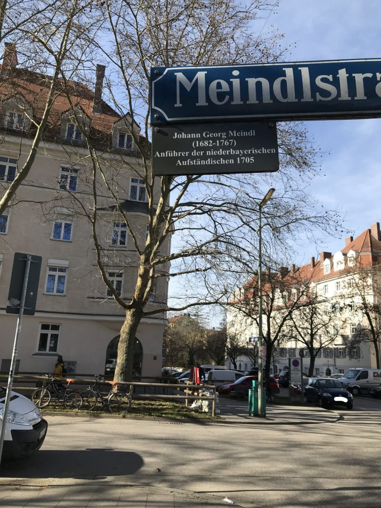 Meindlstraße