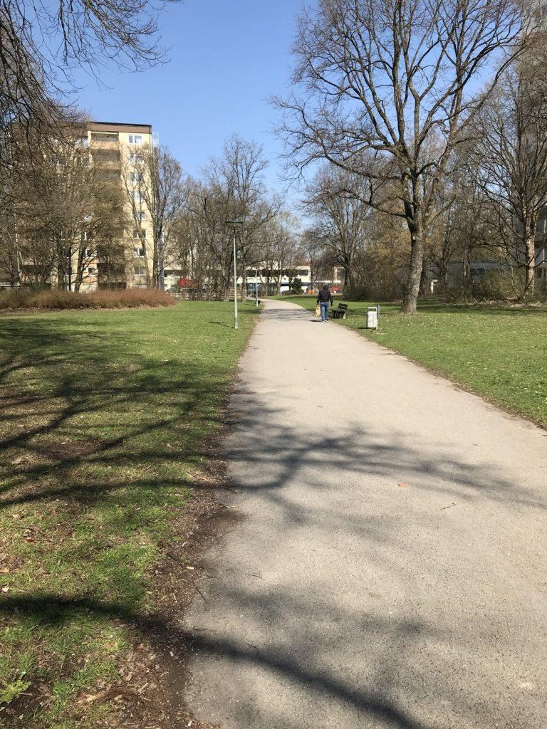 Weg östlich der Kemptener Straße