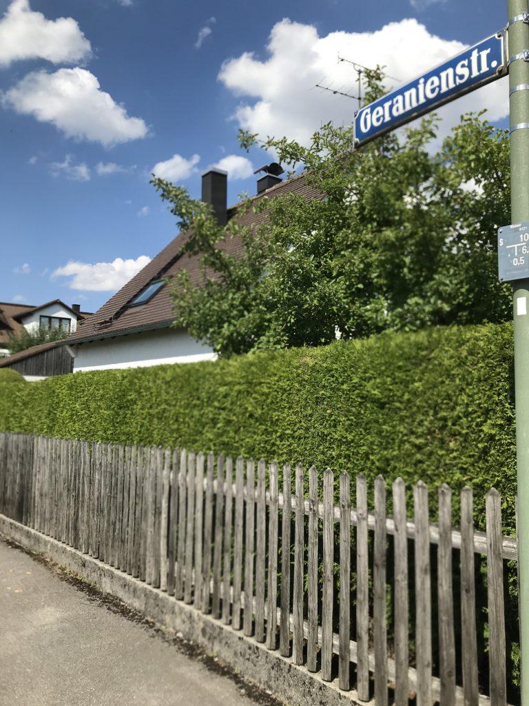 Geranienstraße