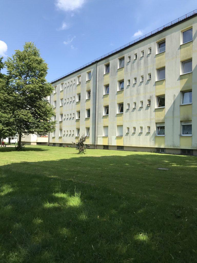 Grünanlage parallel Züricher Straße