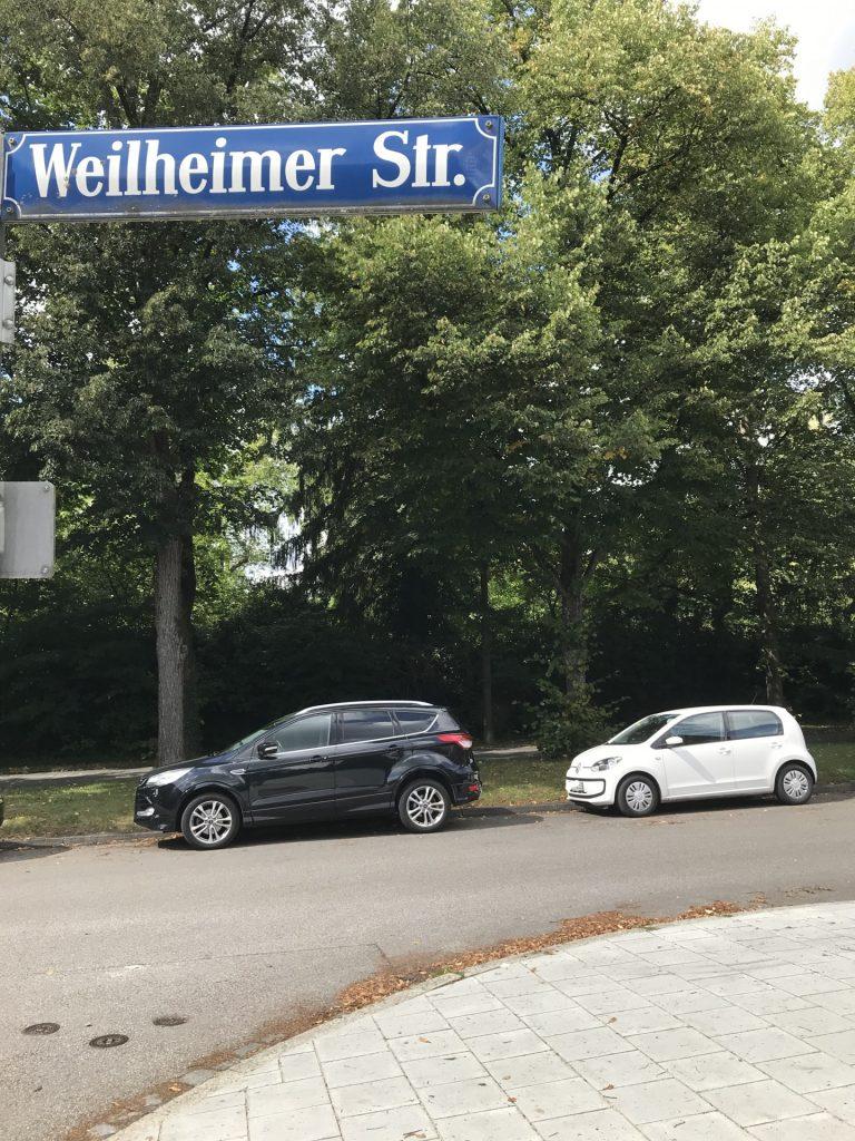 Weilheimer Straße